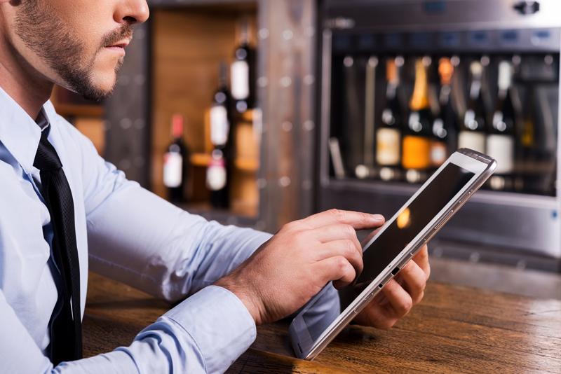 L'addition, la caisse enregistreuse des restaurants et bars