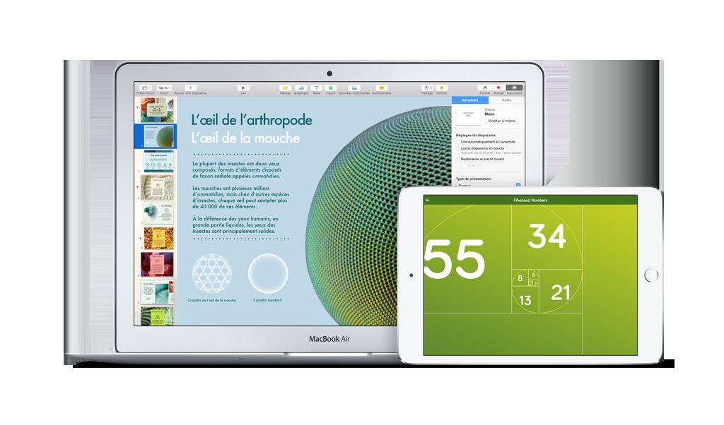 Mac et iPad. Le pouvoir aux étudiants.