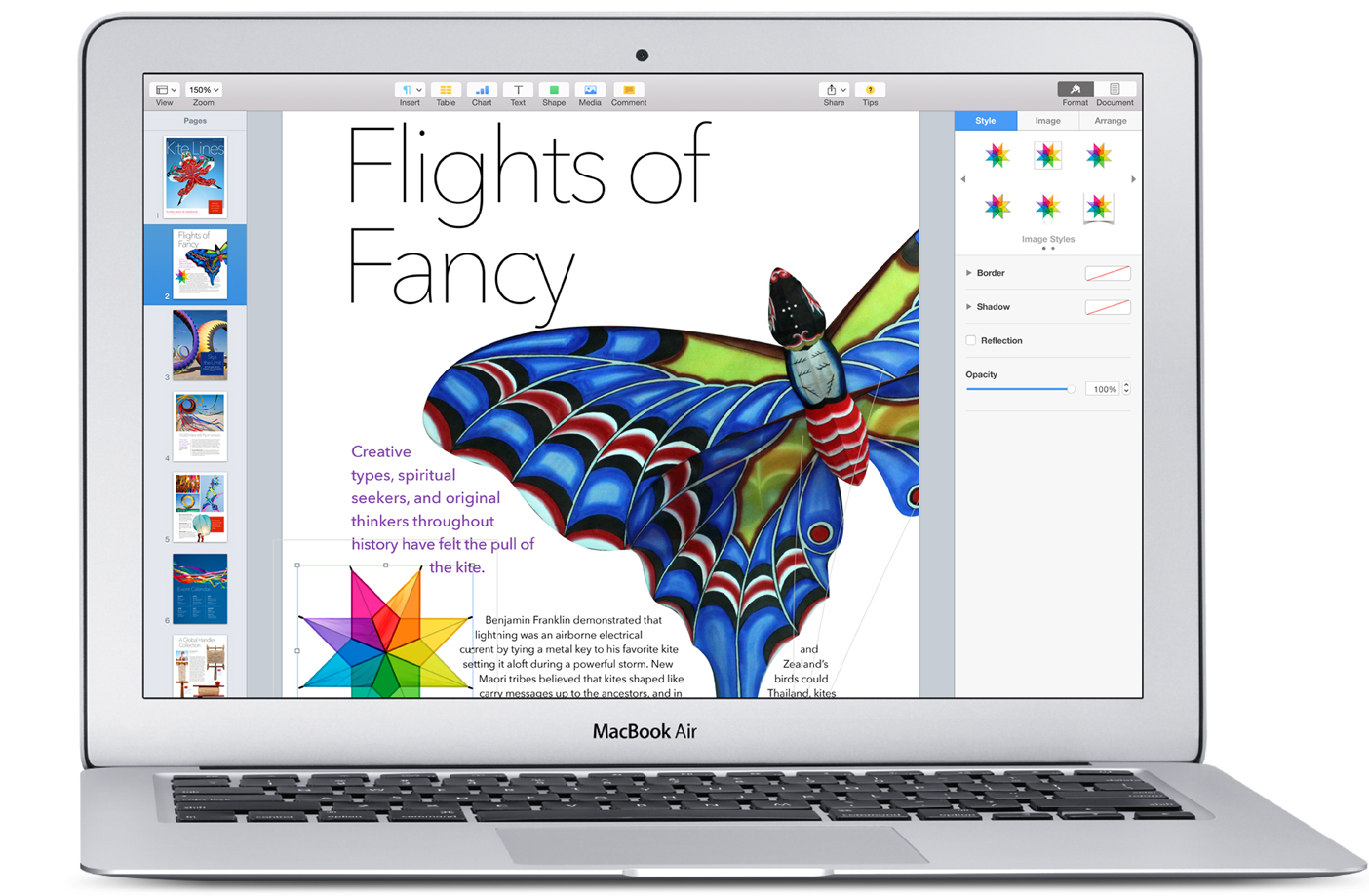 Le Mac a tout ce qu'il faut pour l'étudiant. Et la vie de l'étudiant.